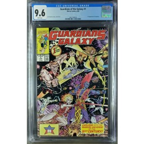 Guardians of the Galaxy #1 (1990) CGC 9.6 NM+ WP 1st app Taserface (3821184025) 