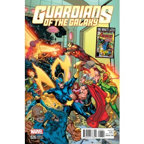 Guardians of the Galaxy (2013) #26 VF/NM One Minute Later Variant Cover