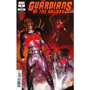 Guardians of the Galaxy (2020) #9 VF/NM Ryan Brown Knullified Variant Cover