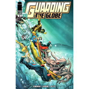 Guarding the Globe (2010) #2 VF/NM Image Comics
