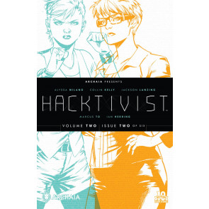 HACKTIVIST (2015) #2 VF/NM VOLUME TWO BOOM! ARCHAIA