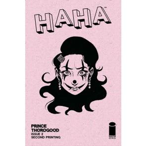 Haha (2021) #1 VF/NM 2nd Printing Image Comics