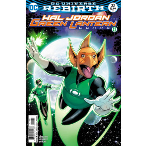 Hal Jordan and the Green Lantern Corps (2016) #33 VF/NM Barry Kitson Cover