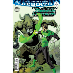 Hal Jordan and the Green Lantern Corps (2016) #2 VF/NM Kevin Nowlan Cover