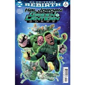 Hal Jordan and the Green Lantern Corps (2016) #2 VF/NM Rafa Sandoval Cover