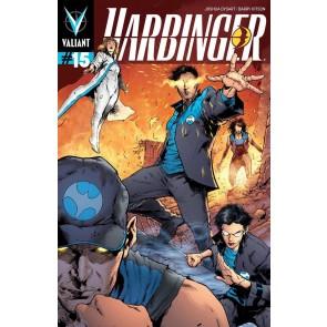 HARBINGER (2012) #15 VF+ - VF/NM PULLBOX VARIANT VALIANT COMICS