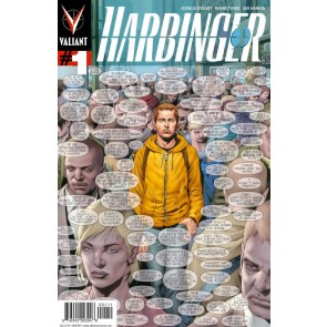 Harbinger (2012) #1 VF Arturo Lozzi Valiant