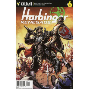 Harbinger Renegade (2017) #6 VF/NM Darick Robertson Cover Valiant