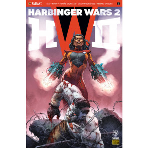 Harbinger Wars 2 (2018) #2 VF/NM Variant Cover Valiant