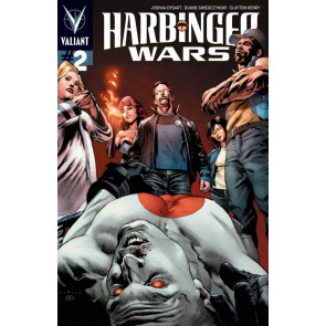 HARBINGER WARS (2013) #2 VF+ - VF/NM PULLBOX VARIANT VALIANT COMICS