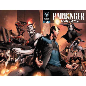 HARBINGER WARS (2013) #4 VF+ - VF/NM PULLBOX VARIANT VALIANT COMICS