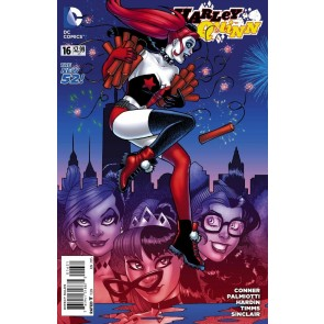 Harley Quinn (2013) #16 VF/NM-NM Amanda Conner 1:25 Variant Cover The New 52!