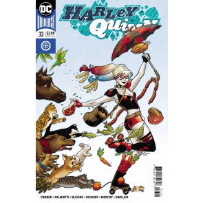 Harley Quinn (2016) #33 VF/NM Amanda Conner Cover DC Universe