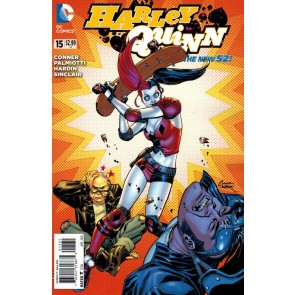 Harley Quinn (2013) #15 VF/NM-NM 1:25 Variant Cover The New 52!