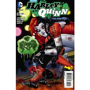 Harley Quinn (2013) #10 VF/NM-NM 1:25 Rollerblade Variant Cover The New 52!