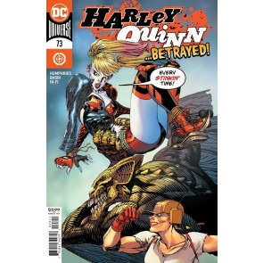 Harley Quinn (2016) #73 VF/NM Guillem March Cover