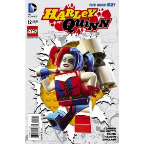 Harley Quinn (2013) #12 VF/NM Lego Variant Cover The New 52!