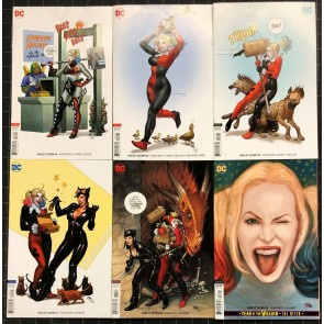 Harley Quinn (2016) #46 50 52 61 62 63 VF+ lot of 6 Frank Cho variant covers