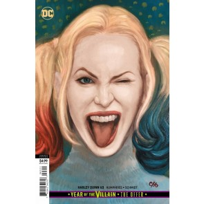 Harley Quinn (2016) #63 VF/NM Frank Cho Card Stock Variant Cover YOTV