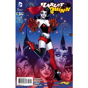 Harley Quinn (2013) #16 VF/NM-NM Amanda Conner Cover The New 52!
