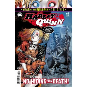 Harley Quinn (2016) #63 VF/NM Guillem March Cover YOTV