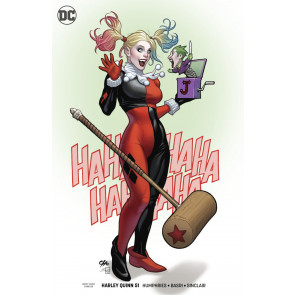 Harley Quinn (2016) #51 VF/NM Frank Cho Variant Cover DC Universe