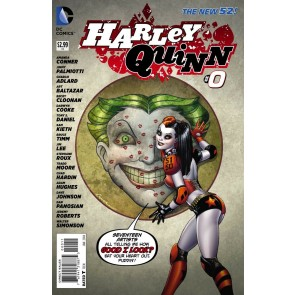Harley Quinn (2013) #0 VF/NM-NM Amanda Conner 1st Printing The New 52!
