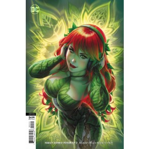 Harley Quinn & Poison Ivy (2019) #2 of 6 VF/NM Warren Louw Variant Cover (Ivy)