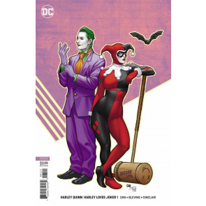 Harley Quinn: Harley Loves Joker (2018) #'s 1 2 Amanda Conner & Frank Cho Covers