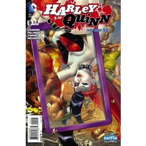 "Harley Quinn (2013) #9 VF/NM-NM ""Selfie"" Variant Cover The New 52!"