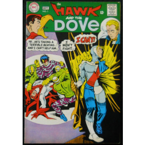 HAWK AND THE DOVE #1 VF STEVE DITKO COVER & ART