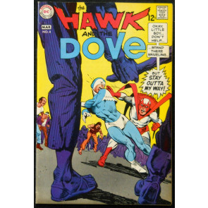 HAWK AND THE DOVE #4 VF