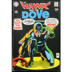 HAWK AND THE DOVE #5 FN+ TEEN TITANS CAMEO