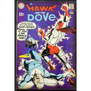 HAWK AND THE DOVE #6 VF-