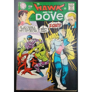 HAWK AND THE DOVE #1 (1968) F+ (6.5) STEVE DITKO COVER & ART ~~KG