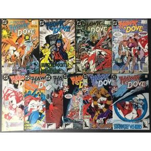 Hawk & Dove (1988) 1-28 + 2 annuals complete set 30 comics total