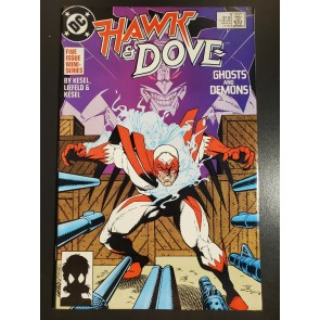 HAWK & DOVE #1 (1988) VF/NM (9.0) 1ST MAJOR ROB LIEFELD PUBLISHED WORK |