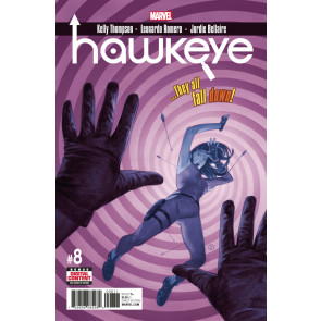 Hawkeye (2016) #8 VF/NM Julian Totino Tedesco Cover