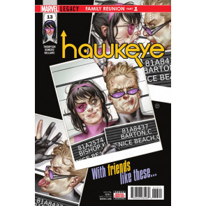 Hawkeye (2016) #13 VF/NM Julian Totino Tedesco Cover