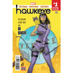 Hawkeye (2016) #1 VF/NM Julian Totino Tedesco Cover