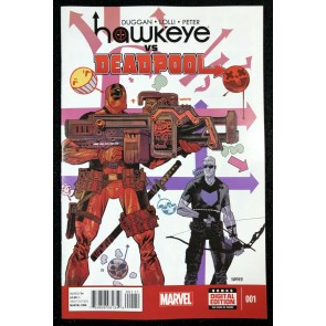 Hawkeye vs Deadpool (2014) #1 NM (9.4) cameo app Gwenpool