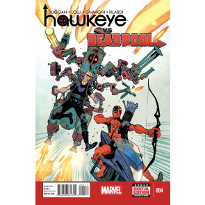 HAWKEYE VS DEADPOOL (2014) #4 VF/NM