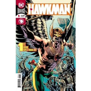 Hawkman (2018) #1 VF/NM Bryan Hitch Cover DC Universe