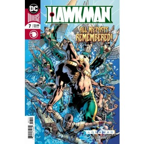 Hawkman (2018) #7 of 22 VF/NM Bryan Hitch Cover DC Universe