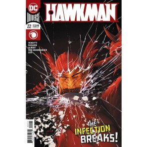 Hawkman (2018) #22 of 22 VF/NM Mikel Janin Cover DC Universe