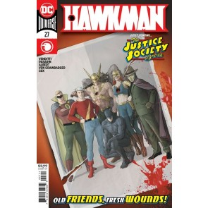 Hawkman (2018) #27 VF/NM Mikel Janin Cover DC Universe