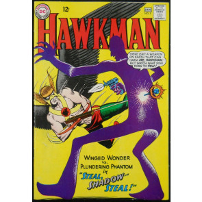 HAWKMAN #5 VF- 2ND APP SHADOW THIEF
