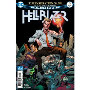 Hellblazer (2016) #15 VF/NM Tim Seeley Cover DC Universe Rebirth