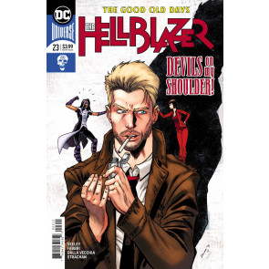 Hellblazer (2016) #23 VF/NM Tim Seeley Cover DC Universe