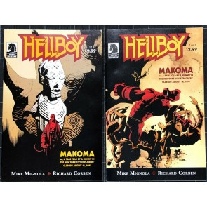 Hellboy Makoma (2006) #1 2 NM (9.4) complete set Mike Mignola Richard Corben